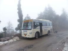 Mussoorie Rally bus