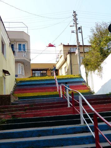 Selcuk stairs
